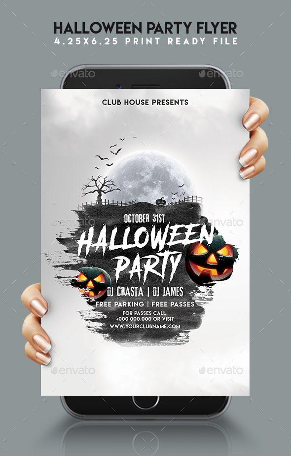 The 25+ best Halloween party flyer ideas on Pinterest   Flyers ...