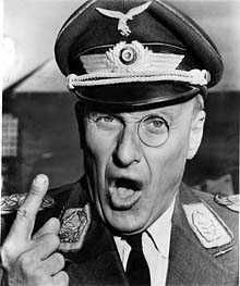 Movie Stars that fought in World War II - Werner Klemperer. -  Army's Special Services unit (USO) - AJ