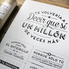 Kit + Lámina ANIVERSARIO. Diseño de Mr.Wonderful. A la venta en: http://www.mrwonderfulshop.es
