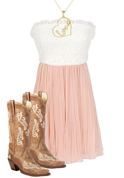 Country Girl Dress & Boots