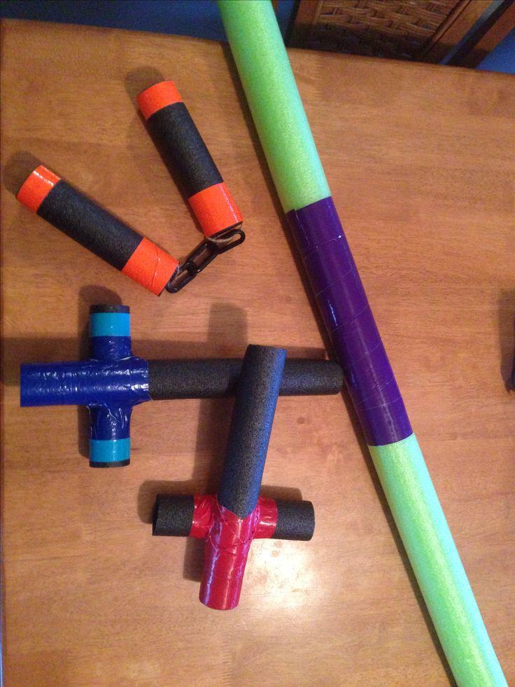 Teenage Mutant Ninja Turtle Weapons
