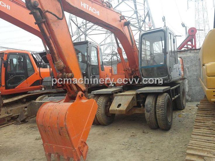 Used Wheel Excavator Hitachi For Sale (EX120-3WD) - China Used Hitachi EX120-3WD Wheel Excavator;Used Wheel Excavator;Used Excavator, Hit...