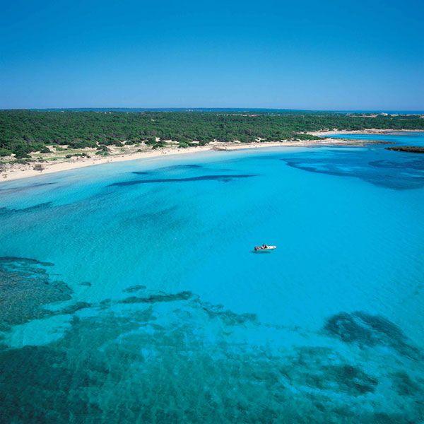 Playa es Carbo en Mallorca