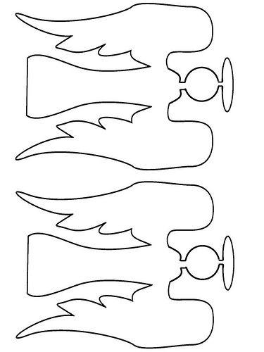 Angel printable #christmas #diy