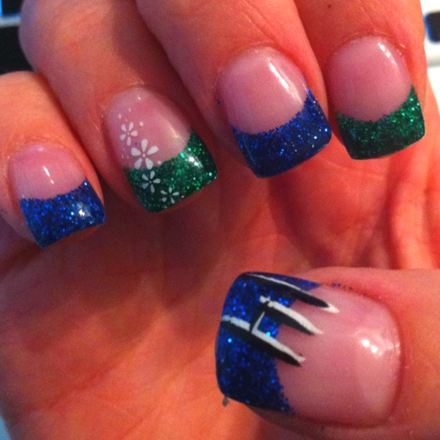 Vancouver Canucks Nails <3