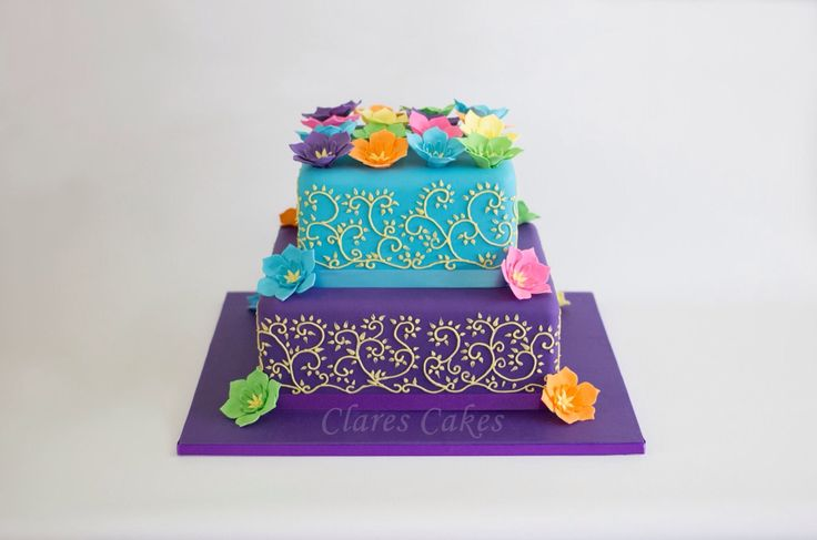 Vibrant Wedding For all inquiries please email info@clarescakes.com.au