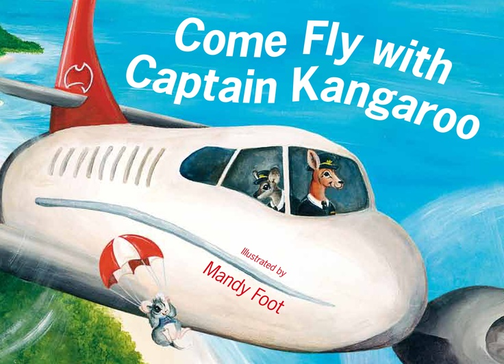 From the arrival of the ground staff and the pilot, through to the passengers checking-in, boarding and the flight itself, the rhyming text in COME FLY WITH CAPTAIN KANGAROO explores the excitement of air travel for young children. Mandy Foot's uniquely Australian cast of animal characters add fun and humour.     For more information and fun activity downloads visit www.captainkangaroo.com.au