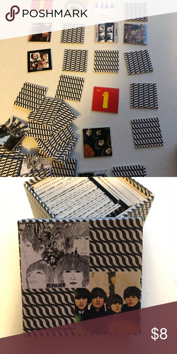 Miniature Memory Game The Beatles This is a game if memory