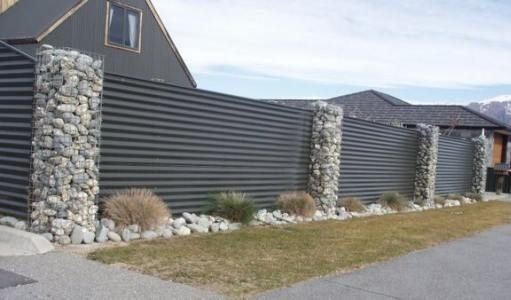 I love this privacy fence!!! I want this in front of our estate.