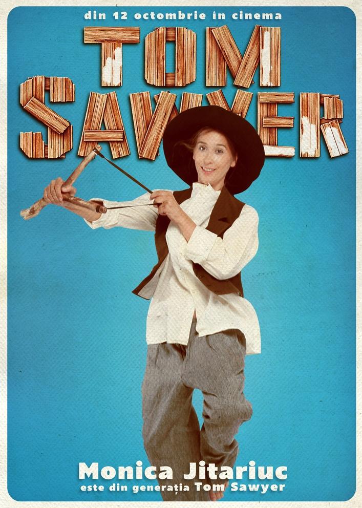 Monica Jitariuc susține campania Generația Tom Sawyer!