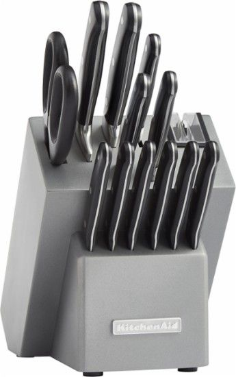#KitchenAid - #Classic KKFTR14SL 14-Piece #Knife #Set - #Silver