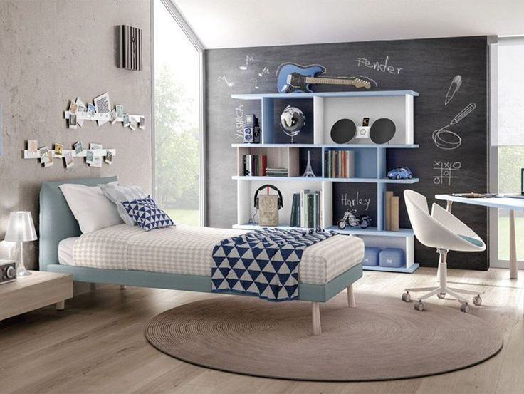 Download the catalogue and request prices of Z476 by Zalf, teenage bedroom