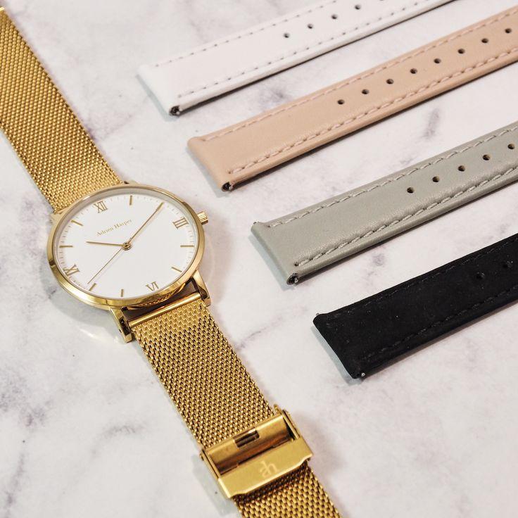 Women's interchangeable watch bands 5 looks in the 1 watch