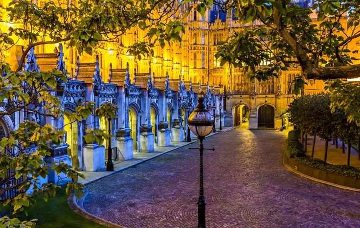 Londyn, Anglia, Ulica, Miasto nocą