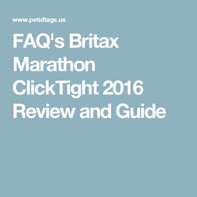 Britax Marathon ClickTight 2016 Review and Guide