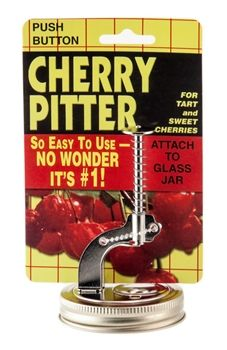 Cherry Pitter for Mason Jars - love it! $8.95 at Fillmore Container