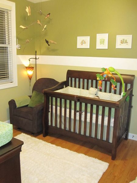 573 Best Images About Green Baby Rooms On Pinterest