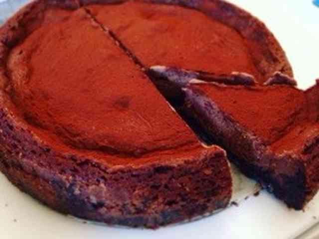 濃厚チョコレートチーズケーキの画像