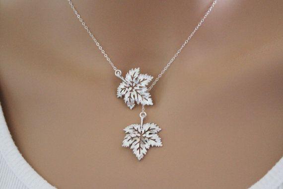 Maple Leaf Lariat Wedding Graduation Anniversary Best by beadxs, $27.00