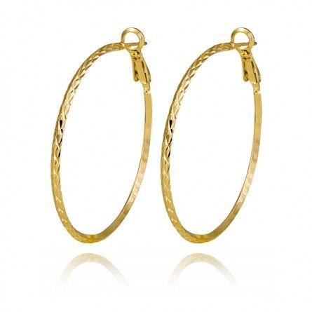 Piękne złote koła idealne na każdą okazję! #Marco #Diamanti #złoto #kolczyki #koła
