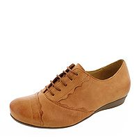 BRAKO BRK 855 Lucy 6823-ambra-rock Damen Schnür-Schuhe helles rotbraun