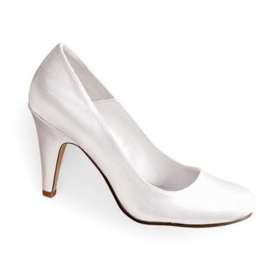 Satin PartyR London Dyeable Classic Pump For Women