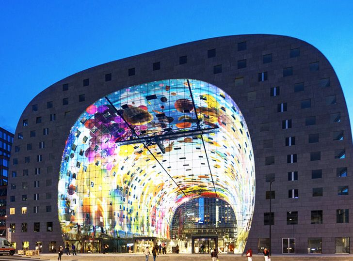 MVRDV's Gorgeous Tunnel-Shaped Market Hall Opens its Doors in ...