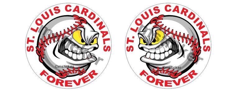 2x Fan St. Louis Cardinals Sticker Aufkleber Autocollant Pegatinas digital Print Car Bike Racing Tuning  Sponsor Helmet JDM Notebook by Artgraphixx on Etsy