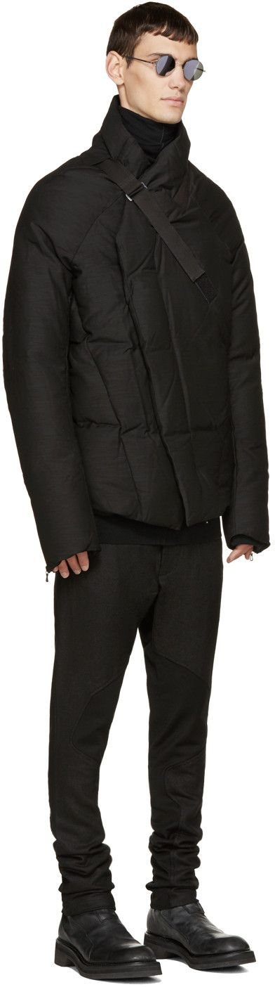 Julius Black Slub Down Jacket Zippertravel.com Digital Edition