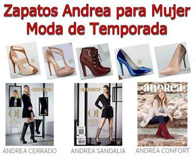 Zapatos Andrea 2016 - Sandalias, Zapatillas y Flats. Calzado solo para mujer. No hombres
