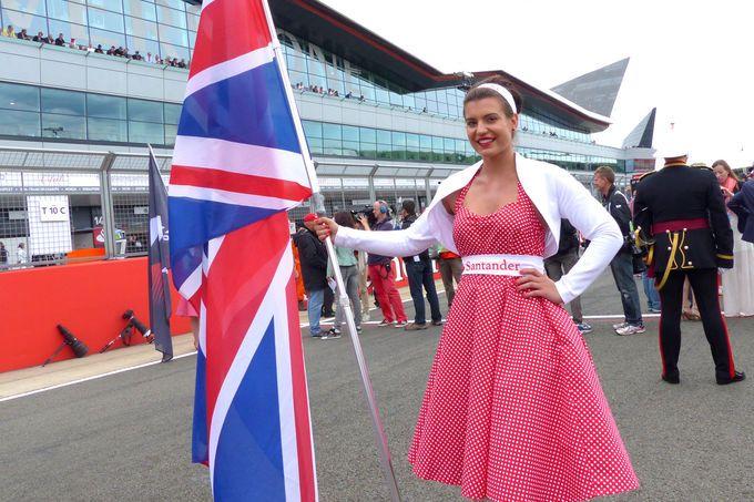 Grid Girls - GP England 2014