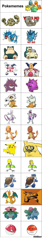 Pokememes  Vía: PilloSitio.com #humor #memes #pokemon