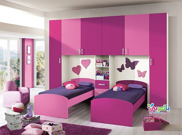 ديكورات غرف نوم بنات بسيطة تصاميم مودرن 2020 بالعربي نتعلم Purple Bedroom Color Scheme Bedroom Color Schemes Kids Bedroom Furniture Design