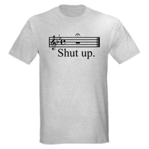For Lauddy! Shut Up Funny Music Marching Band Teacher Guitar Bass T Shirt | eBay
