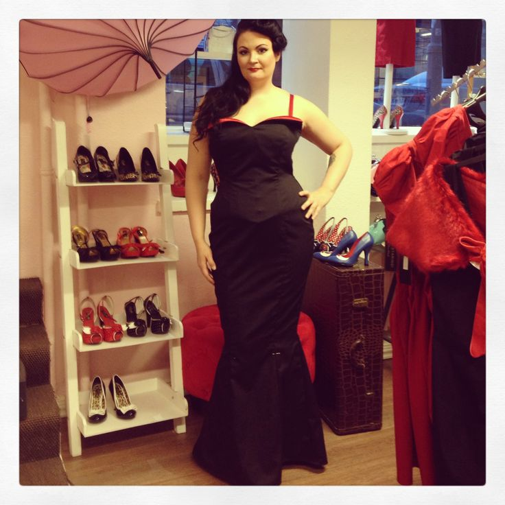 An evening gown made in our atelier by our lovely intern Elena