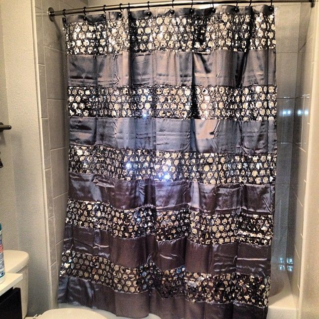 Bling Shower Curtain  Bed Bath Beyond 138 best MY BATH SHOWER CURTAIS SINK SETS images on Pinterest