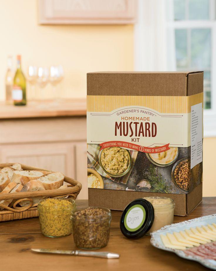 Homemade Mustard Kit
