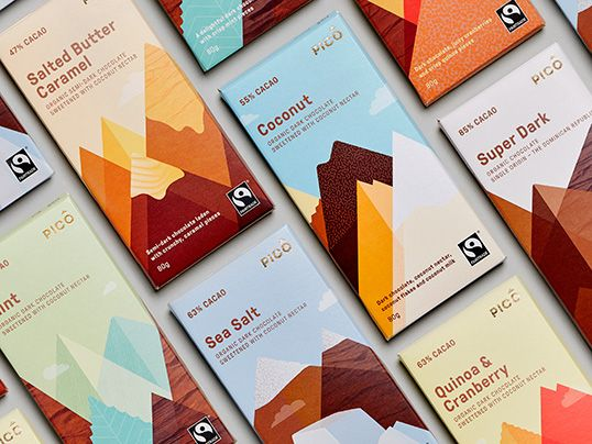 vegan chocolate bars! Only available in Australia?! Nice pkg design by the way (designed by Swear Words)