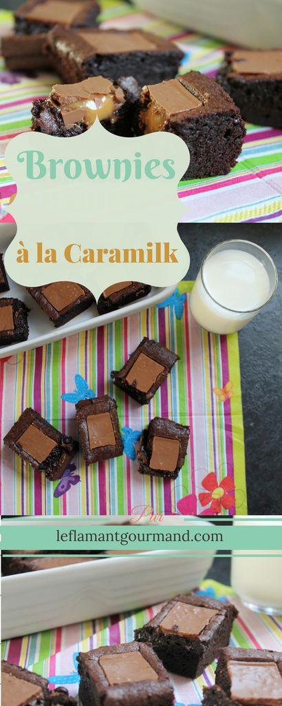 Brownies à la Caramilk Caramilk brownies