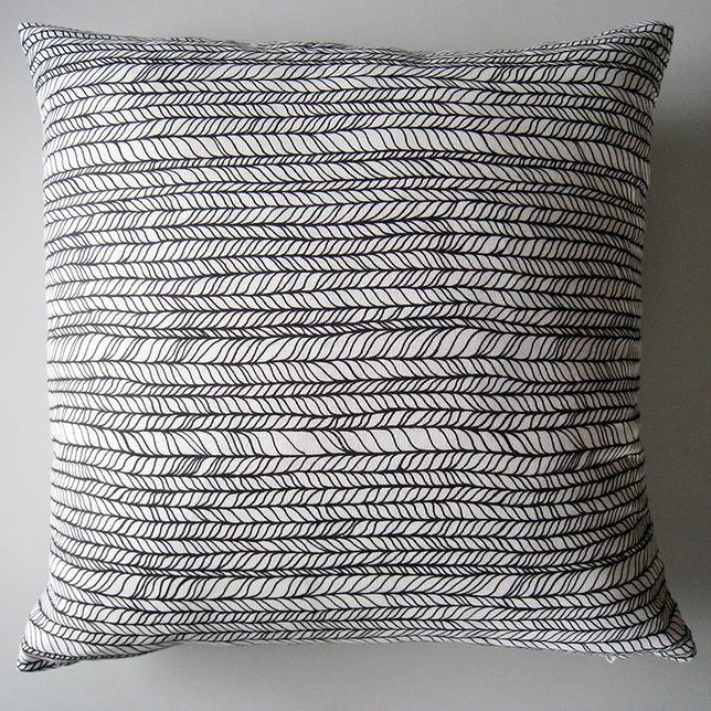 Pura Vida Decor | I can make this! Hand drawn throw pillow case