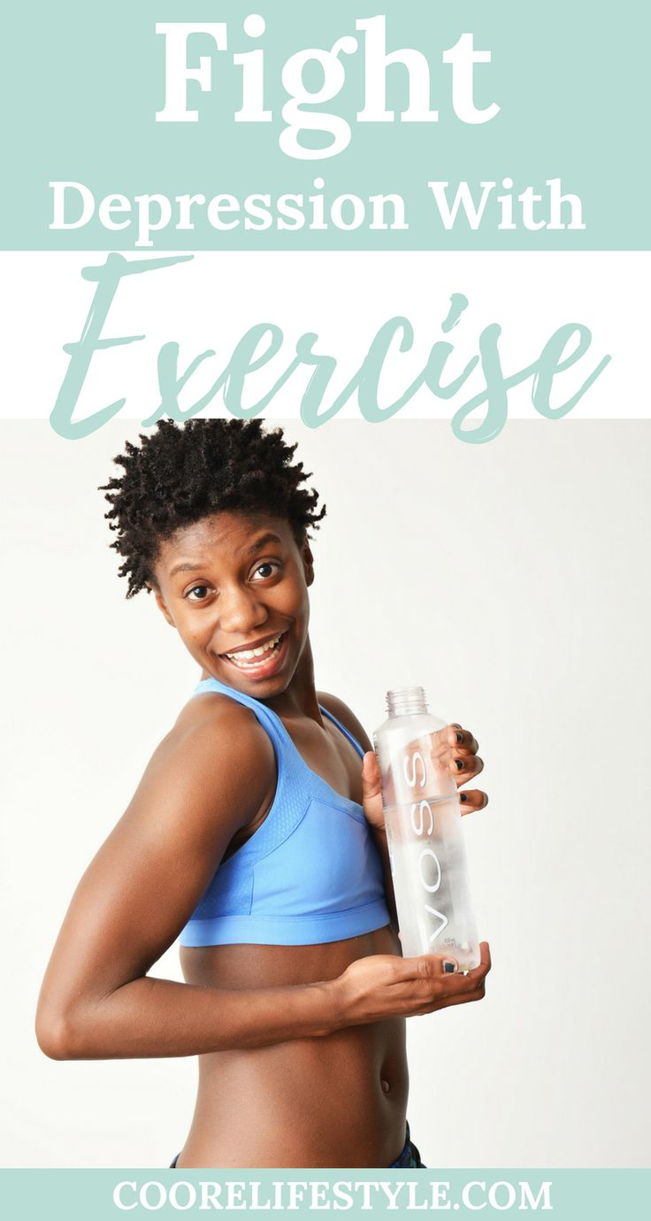One sure fire way of fighting depression is with exercise. Exercise is great for depression. ne sure fire way of fighting depression is with exercise. Exercise is great for depression.