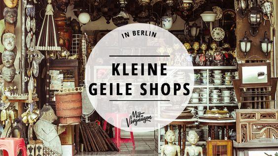 Diese 11 besonderem Läden in Berlin heben sich mit ihrem ausgefallenen Sortiment vom Einheitsbrei ab. (Cool Places Dreams)