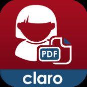 ClaroPDF - PDF-läsare med talsyntes och anteckningsmöjligheter. Appen har ett grundpris, med det följer ett antal röster med olika engelsktalande dialekter. Det finns röster på olika språk att köpa till för 15kr / röst. De sv-rösterna Oscar och Alva finns i betalurbudet.