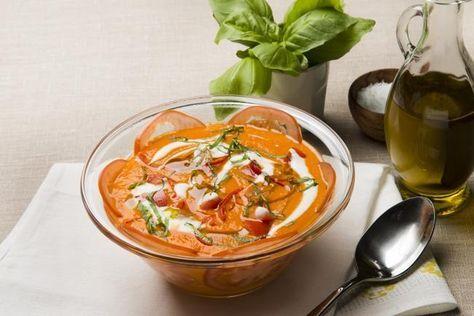 Siciliansk tomatsuppe - herlig på smak både kald og varm
