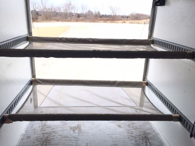 E Track Custom Hammock Beds For Enclosed Trailer