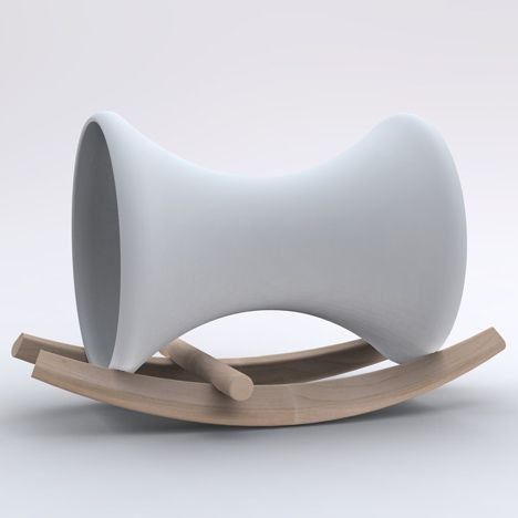 London studio Doshi Levien present this child's rocking horse at imm cologne in Germany this week