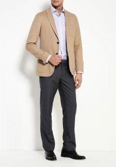 Пиджак, Tommy Hilfiger, цвет: бежевый. Артикул: TO263EMKBY00. Мужская одежда / Пиджаки и костюмы