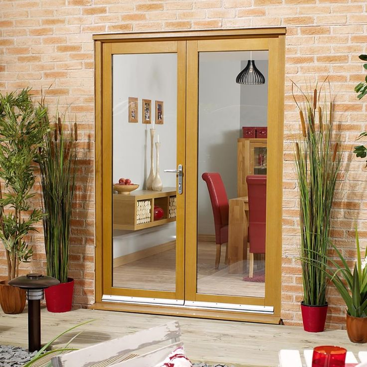 25 best ideas about exterior french doors on pinterest for External double doors and frames