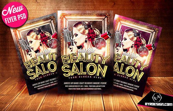 Beauty Salon Flyer Psd   Beauty Salon Flyer Templates