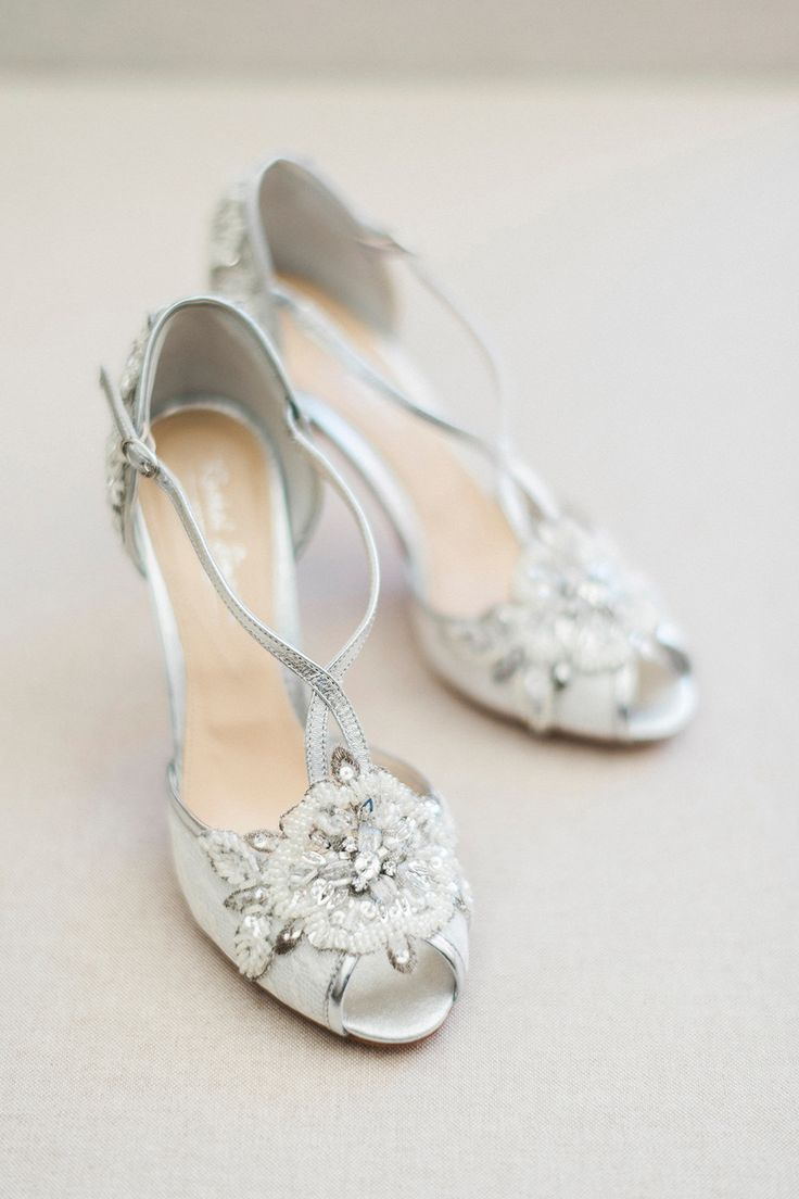 Rachel Simpson 'Charlotte' Bridal Shoes | Pink & Coral Country Wedding at Crabbs Barn, Essex | Kathryn Hopkins Photography | Film by Colbridge Media Services Ltd